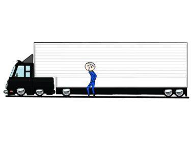 【実話】消防士の転職先としてトラック運転手を選んだ人の末路